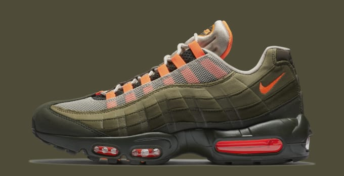 f82d6437f90 Nike Air Max 95 OG  String Total Orange Neutral Olive  AT2865-