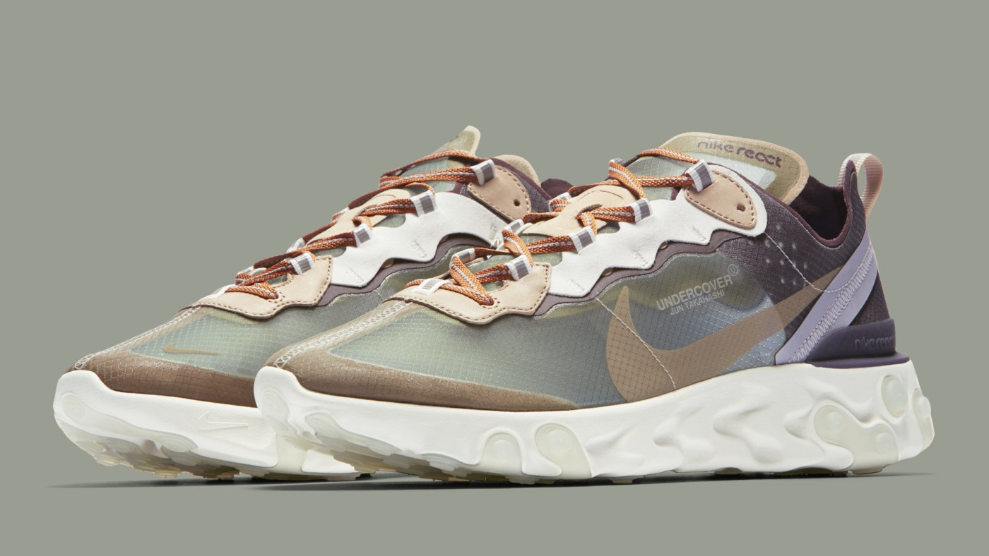 Undercover x Nike React Element 87 BQ2718-300 (Pair)