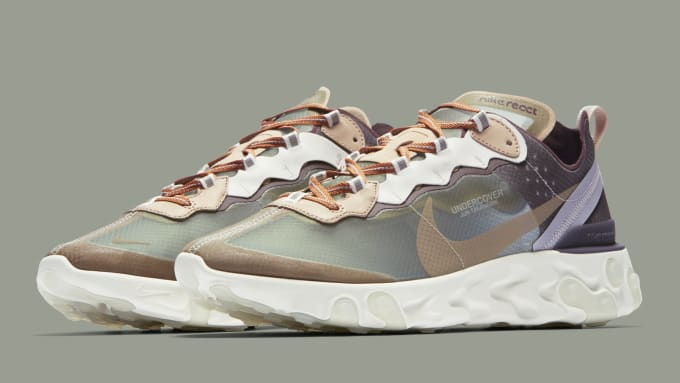 833a128fb9d3 Undercover x Nike React Element 87 BQ2718-300 (Pair)