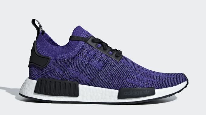 Adidas NMD_R1 PK 'Shock Purple' B37627 Lateral