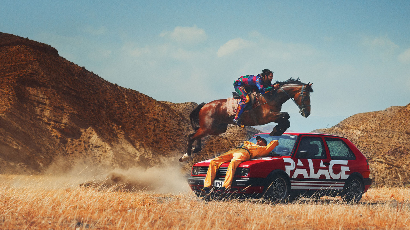 Palace x Polo Ralph Lauren Lookbook 1
