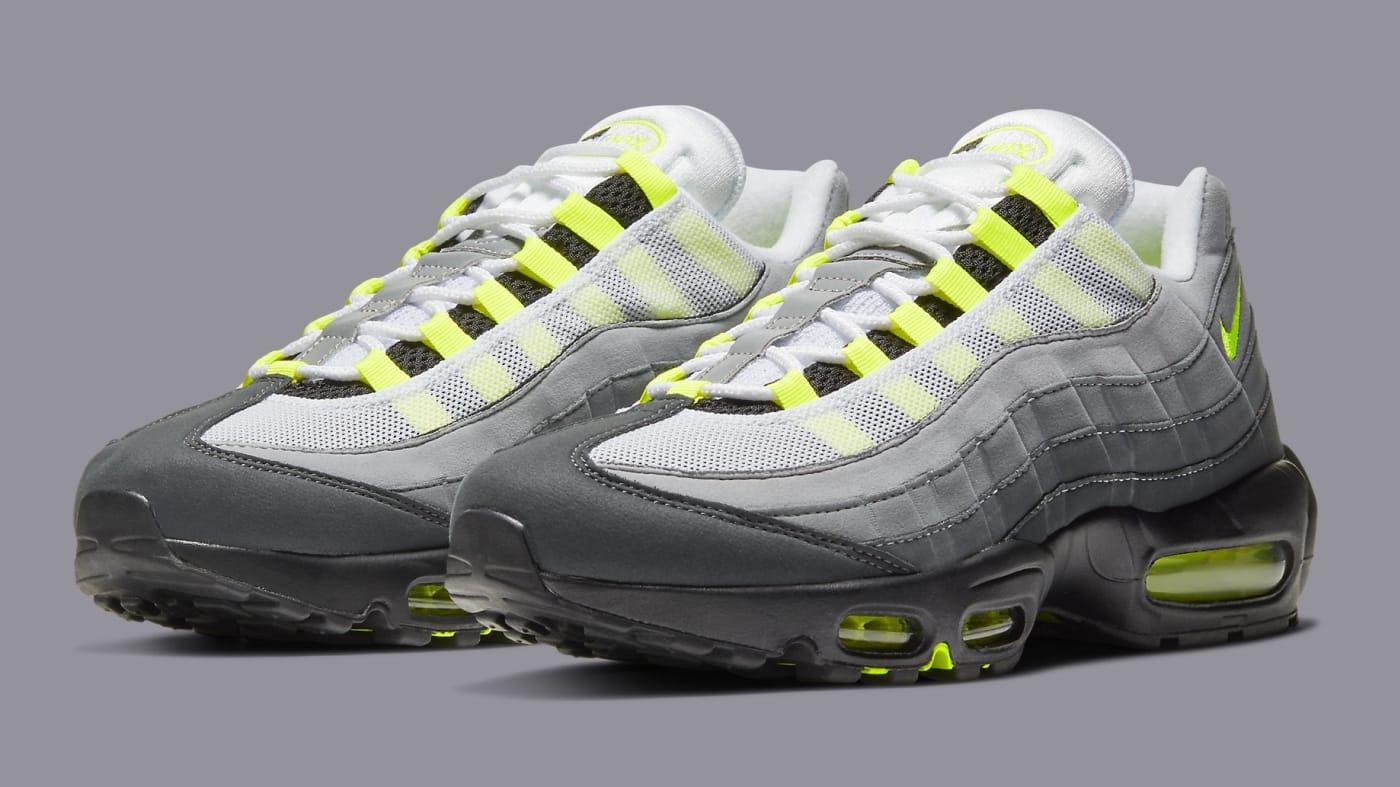 Sneaker Release Guide 12/15/20: 'Neon' Air Max 95, Sacai x Nike ...