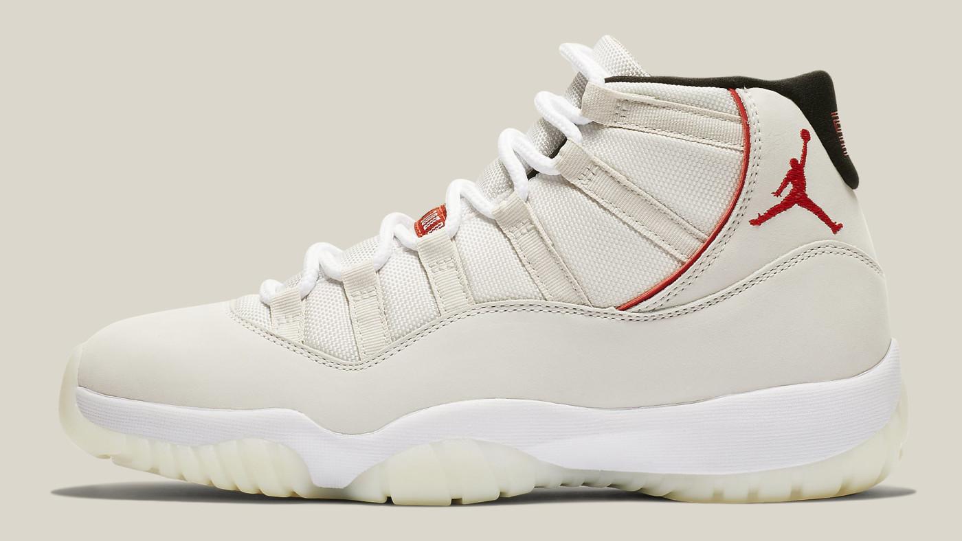 Air Jordan 11 XI Platinum Tint Release Date 378037-016 Profile
