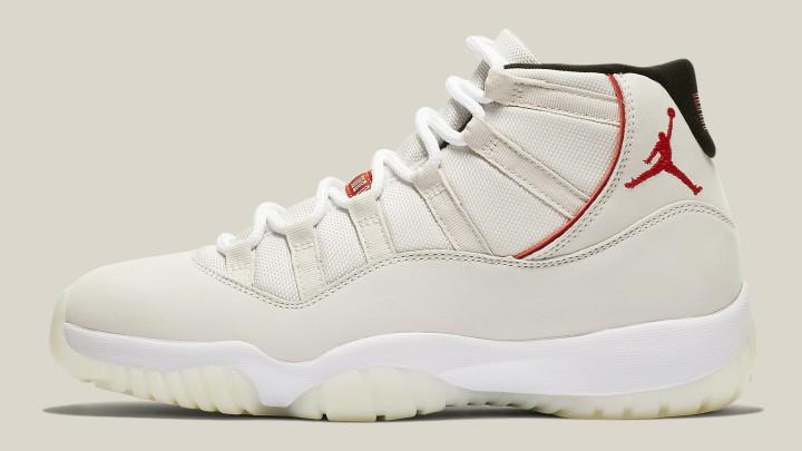 eed09d123b2 Air Jordan 11 XI Platinum Tint Release Date 378037-016 Profile. Image via  Nike
