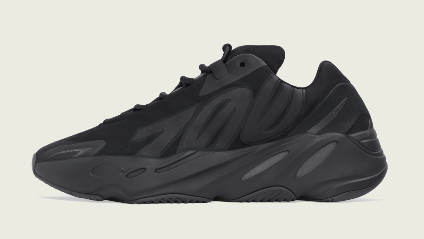 Adidas Yeezy Boost 700 MNVN 'Black' FV4440 Lateral