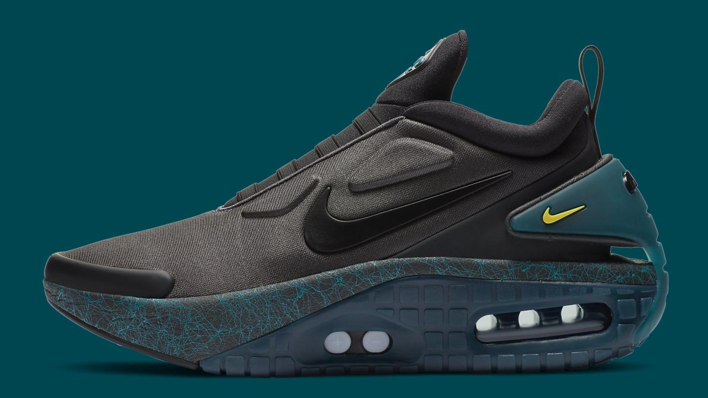Nike Adapt Auto Max Anthracite Green Release Date CI5018-001 Profile