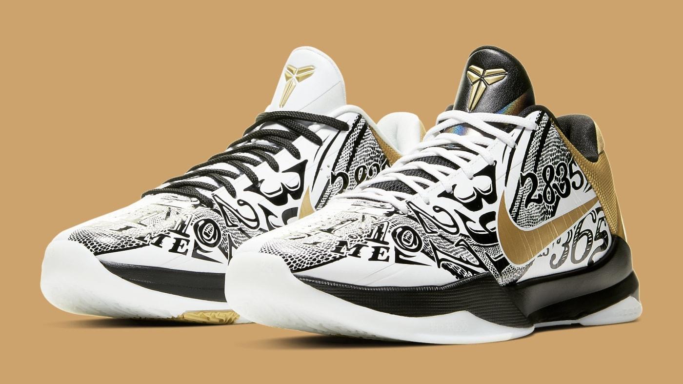 Nike Kobe 5 Big Stage Parade Release Date CT8014 100 Pair
