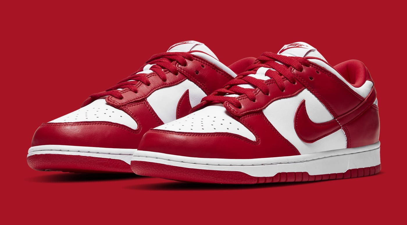 Nike Dunk Low University Red Release Date CU1727 100 Pair