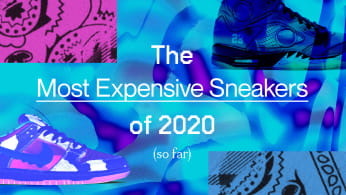 The Most Expensive Sneakers of 2020 (So Far)