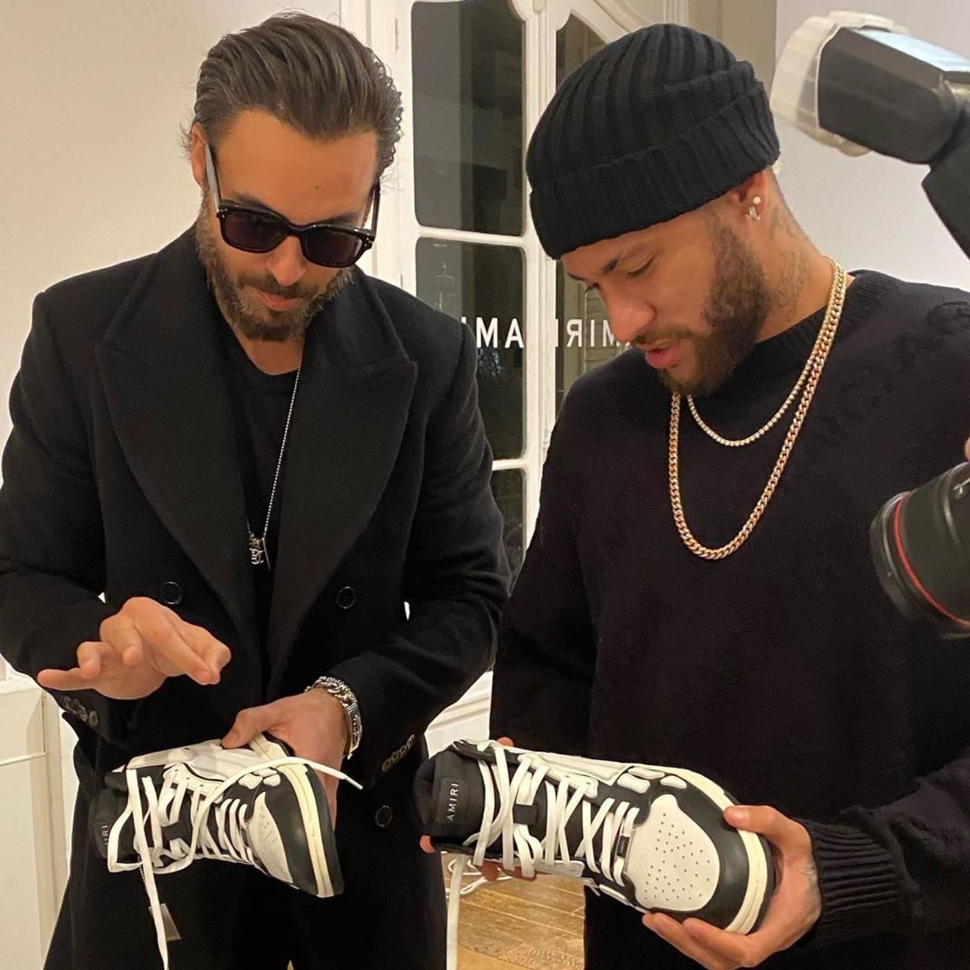 Mike Amiri and Neymar