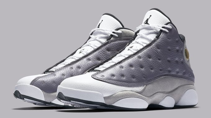 Air Jordan 13 XIII Atmosphere Grey Release Date 414571-016 Pair b836ae46e6