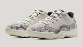 b0a290e95815 Air Jordan 11 XI Low Light Bone Release Date CD6846-002 Pair