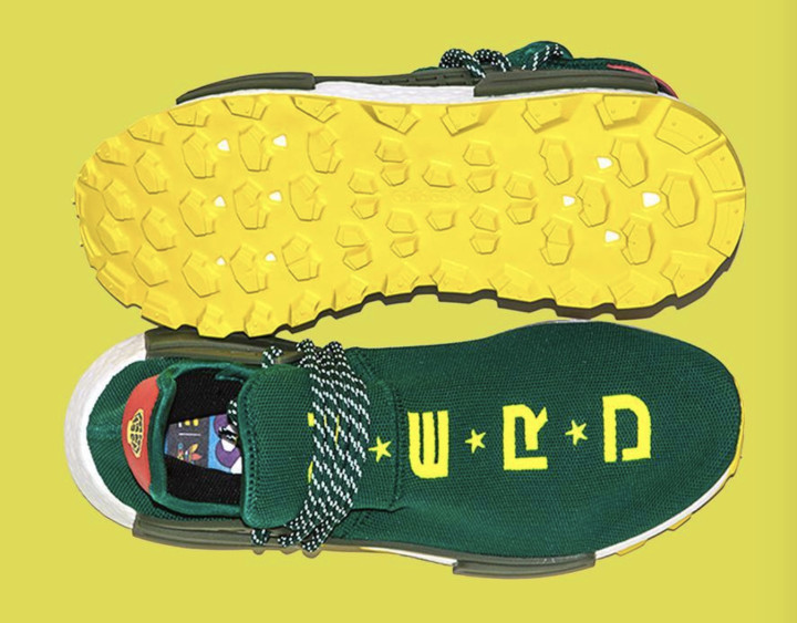 3d1524886a2 Pharrell x Adidas NMD Hu 'BBC NYC Exclusive'