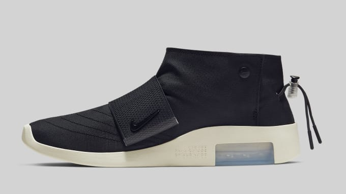 outlet store 16d4d 0ad7f Nike Air Fear of God Moc  Black  AT8086-002 Lateral