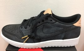 Air Jordan 1 Low Vachetta Tan Black Release Date 905136-010