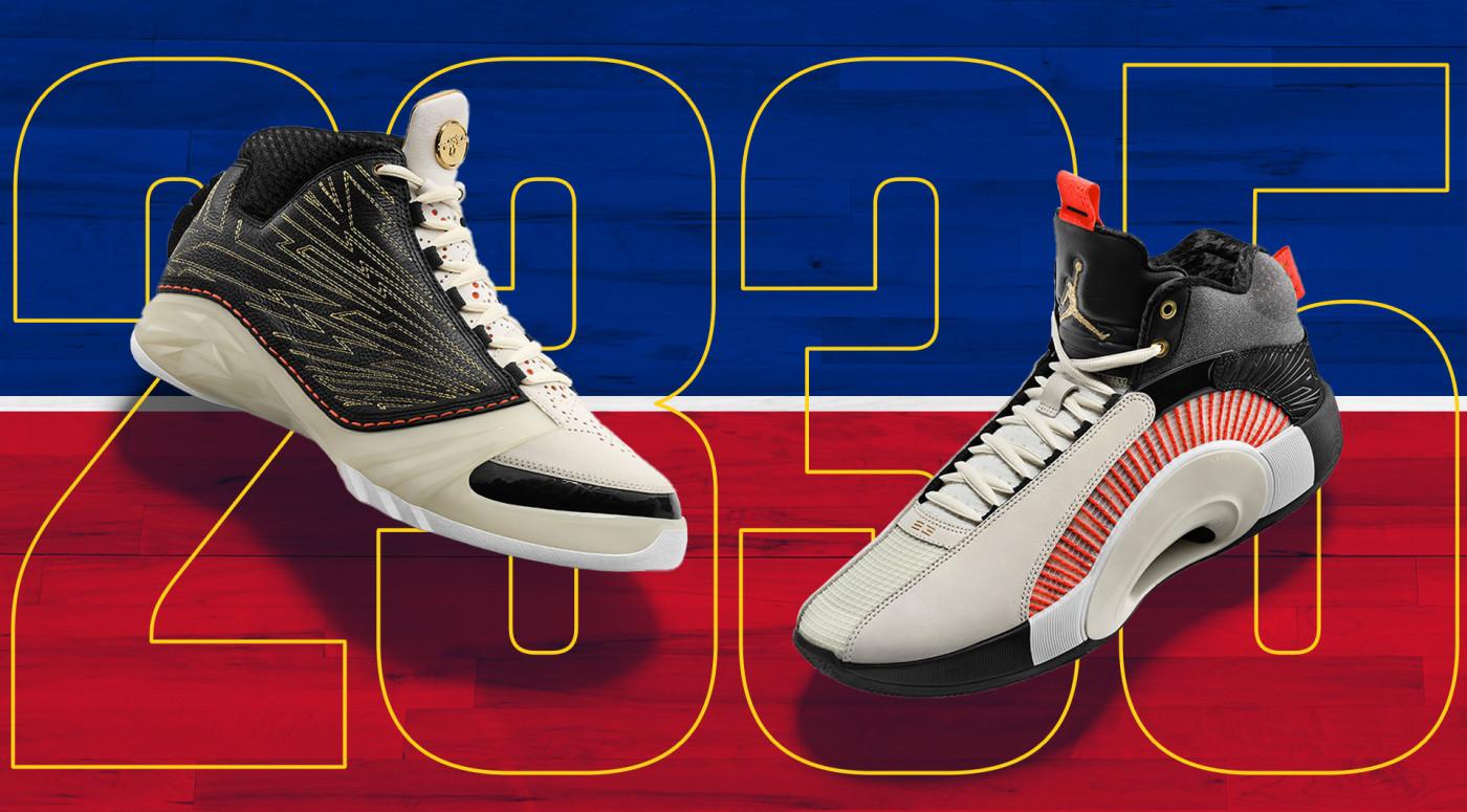 Titan x Air Jordan 23 & Air Jordan 35