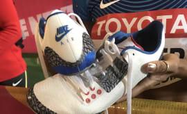 Kori Carter Air Jordan 3 Racing Spikes