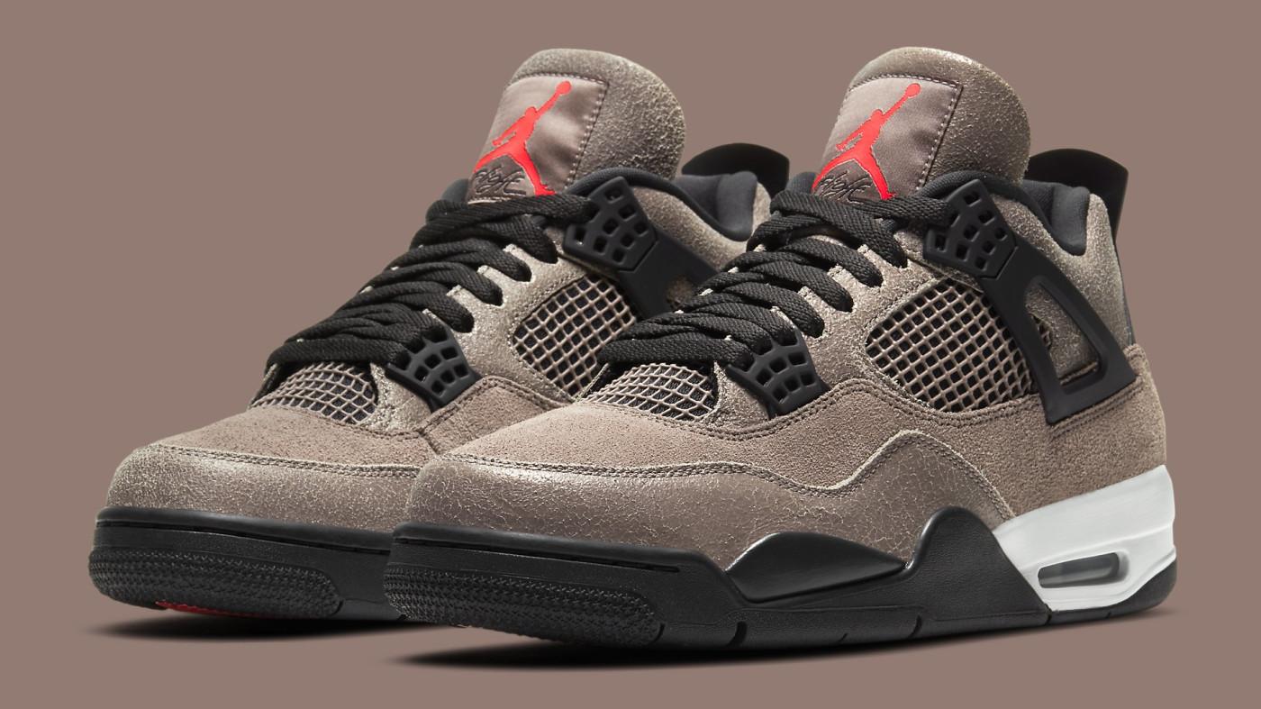 Air Jordan 4 IV Taupe Haze Release Date DB0732-200 Pair