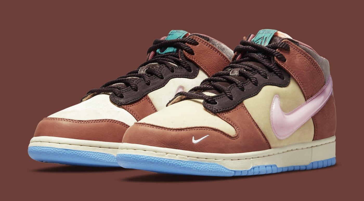 Social Status x Nike Dunk Mid DJ1173-700 Pair