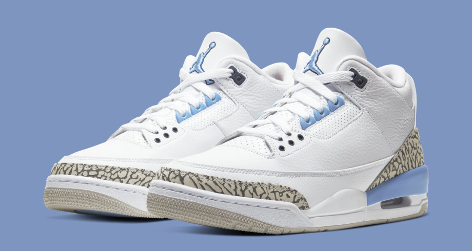 Air Jordan 3 'UNC' CT8532-104 (Pair)