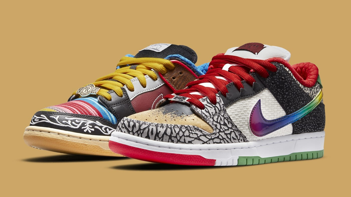 Nike SB Dunk Low 'What The Paul' CZ2239-600 Pair