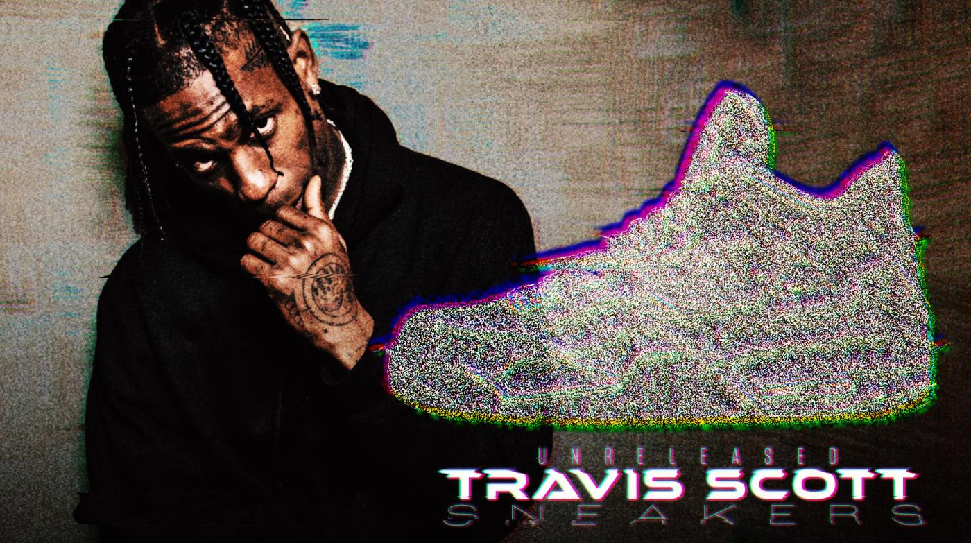 Travis Scott Sneaker Collaborations Unreleased