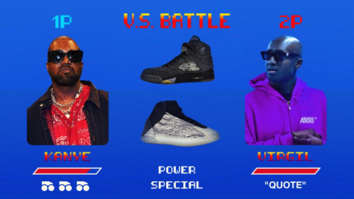Virgil Abloh vs. Kanye West: Whose Sneakers Won NBA All-Star Weekend?