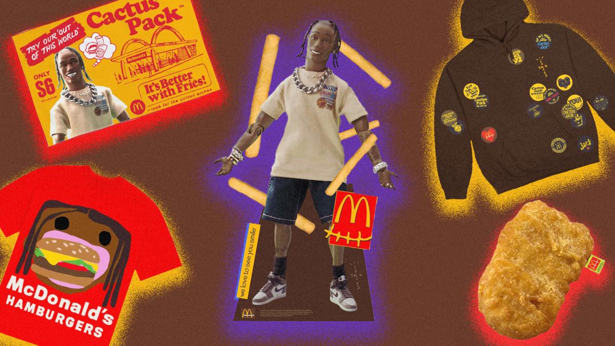 Top 10 Travis Scott x McDonald's Merch Items