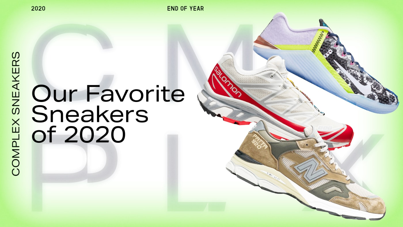 Favorite Sneakers of 2020