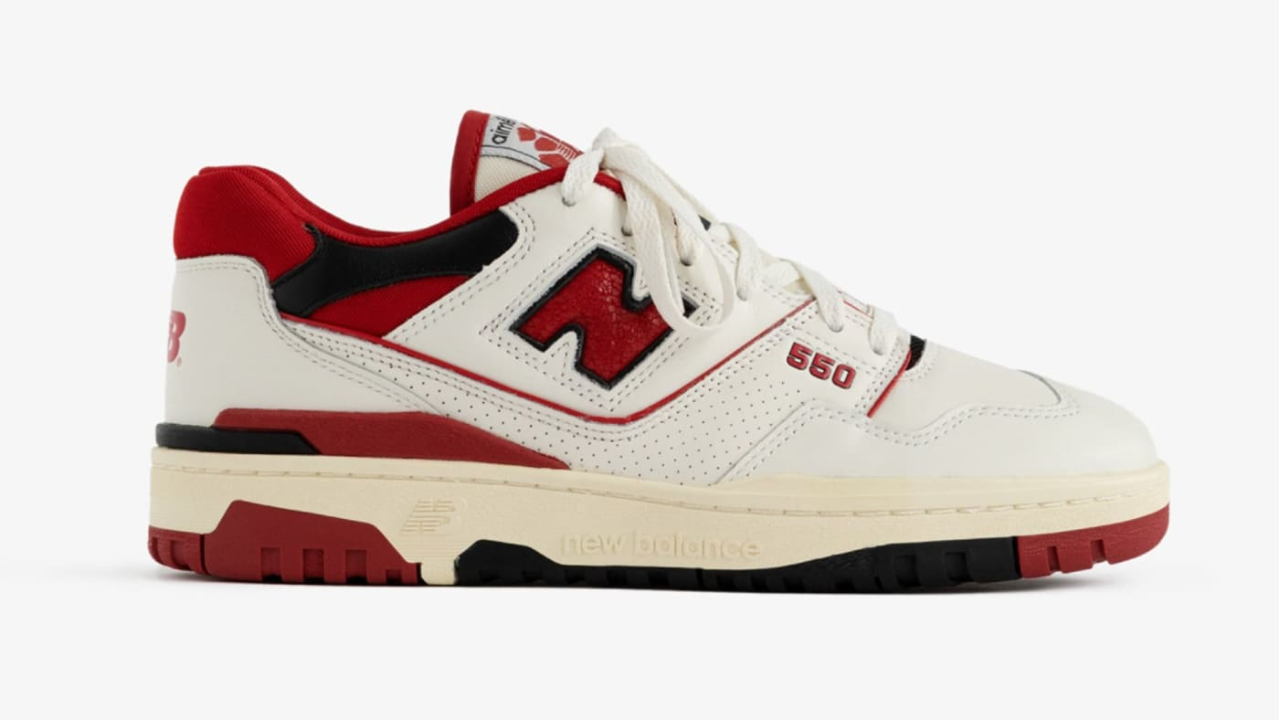 Aime Leon Dore x New Balance P550 'Red' P550RED Release Date