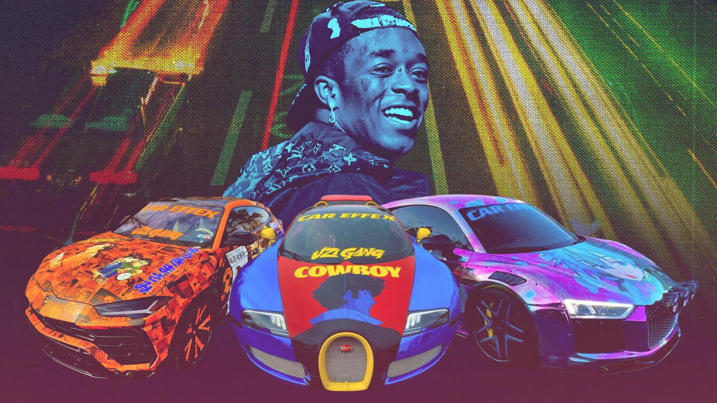 Lil Uzi Vert Custom Car Collection
