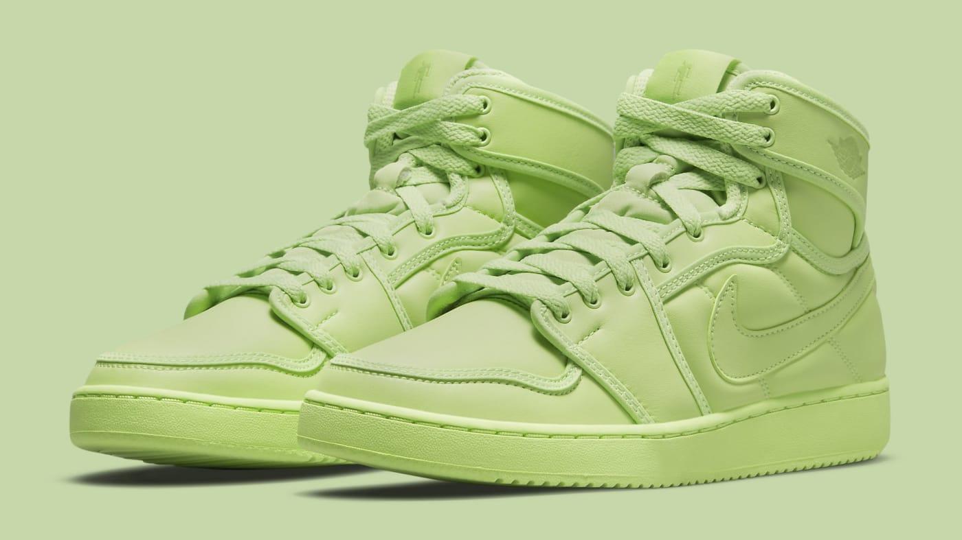 Billie Eilish x Air Jordan 1 KO 'Ghost Green' DN2857-330 (Pair)
