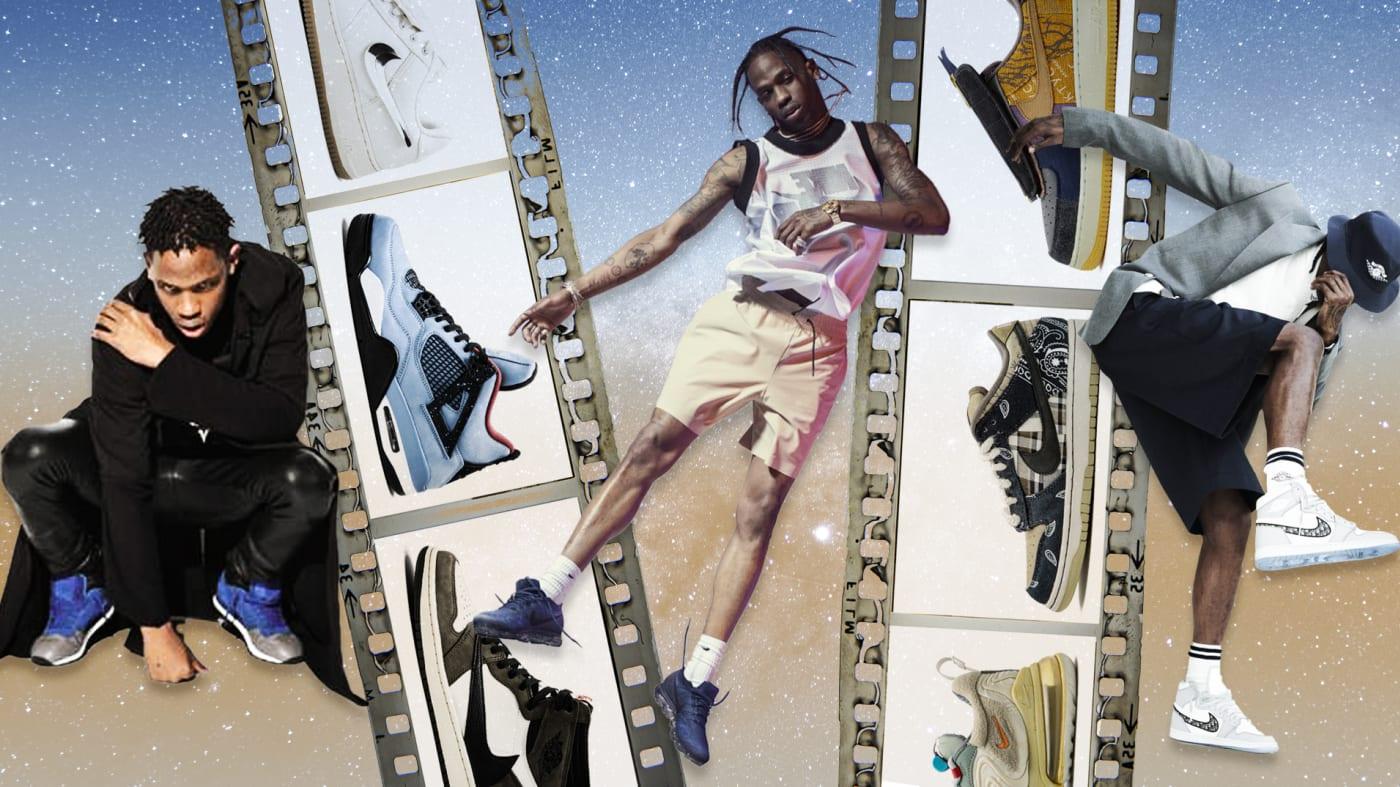 Travis Scott Sneaker History