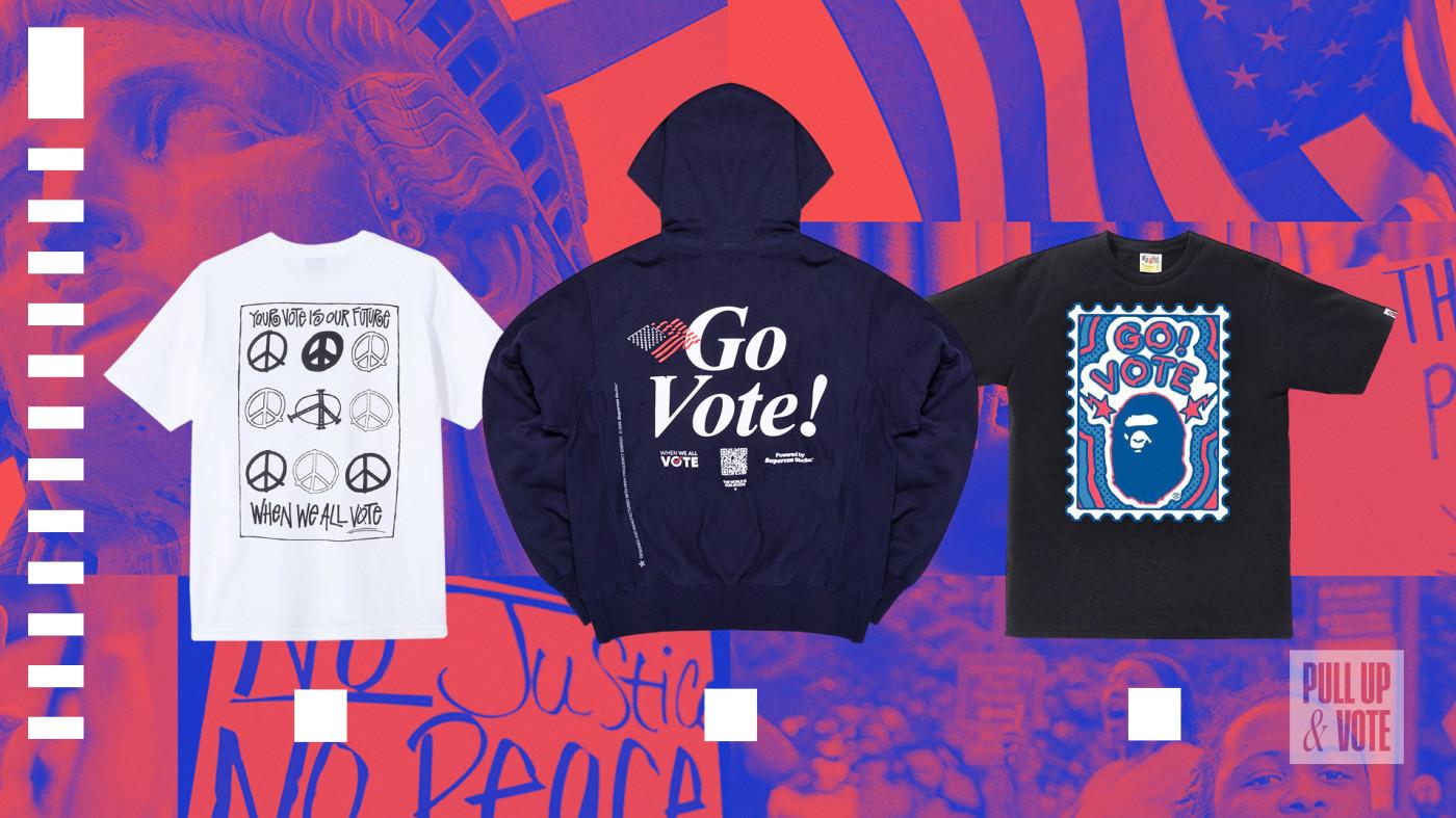 Vote T-shirts