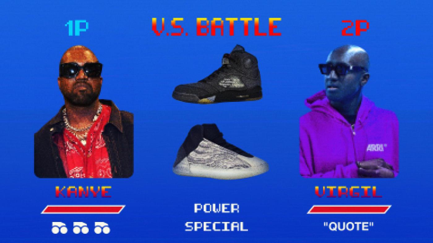 Virgil Abloh Kanye West All Star Weekend 2