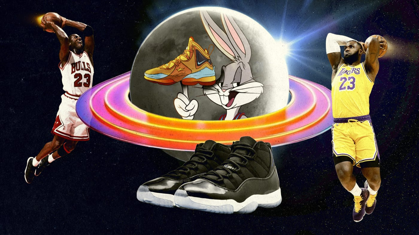 Space Jam: A New Legacy LeBron James Sneaker Legacy
