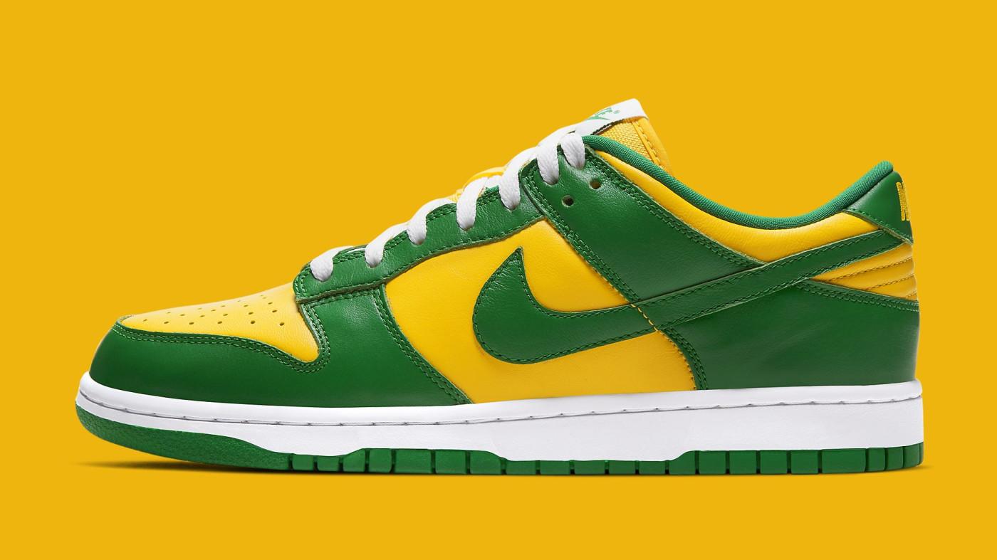 Nike Dunk Low 'Brazil' 2020 CU1727-700 Lateral