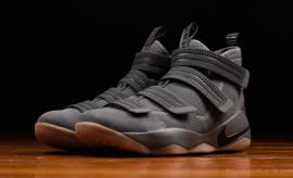 Nike LeBron Soldier 11 Grey Gum Release Date Main 897646-003