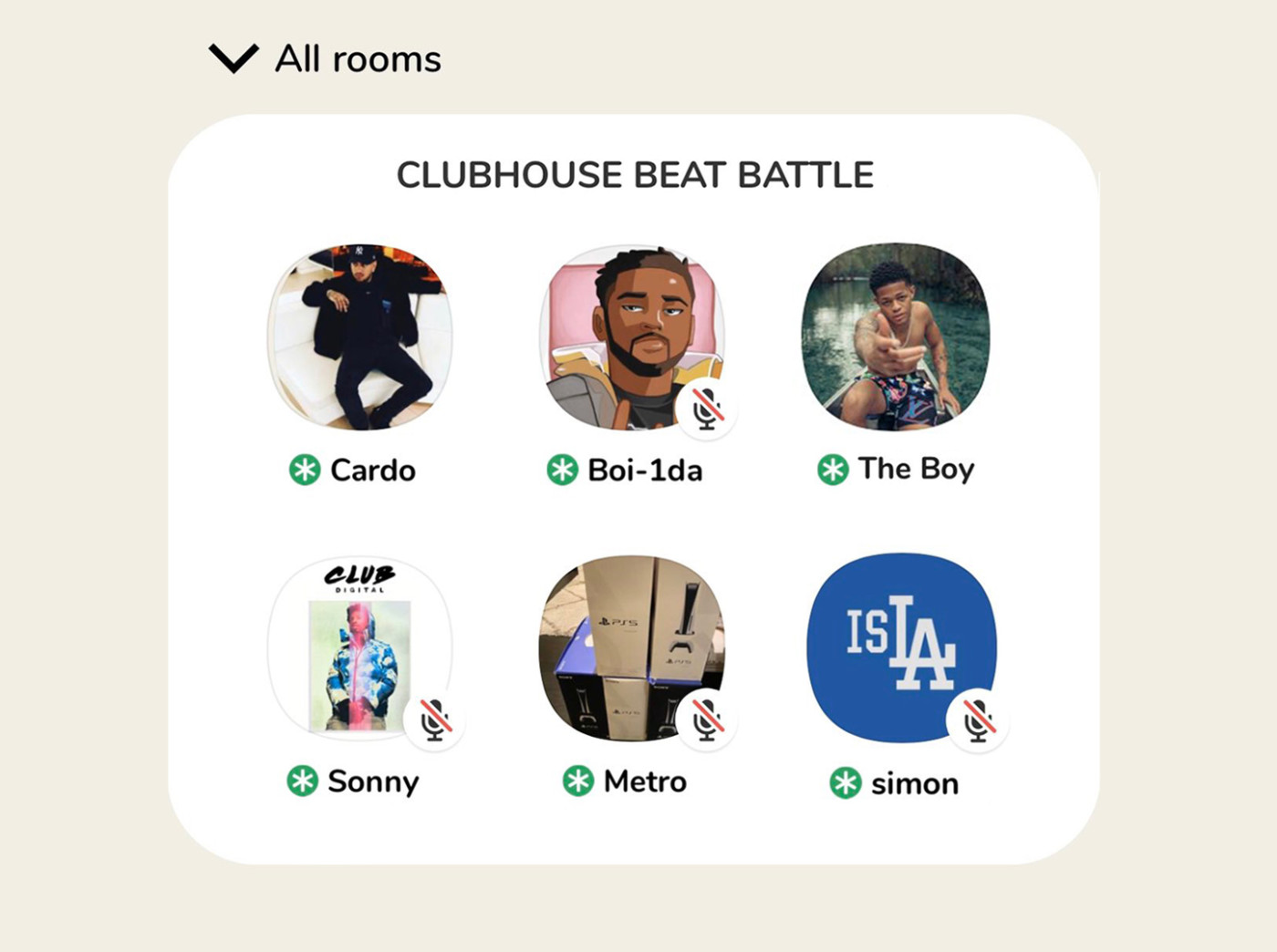 Clubhouse Beat Battle