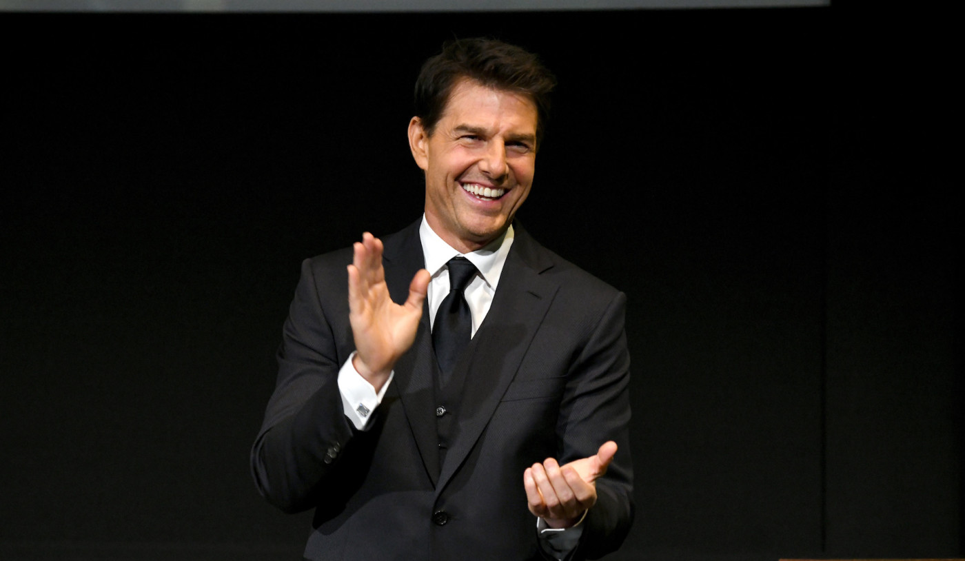 Tom Cruise onstage during the 10th Annual Lumber Awards.