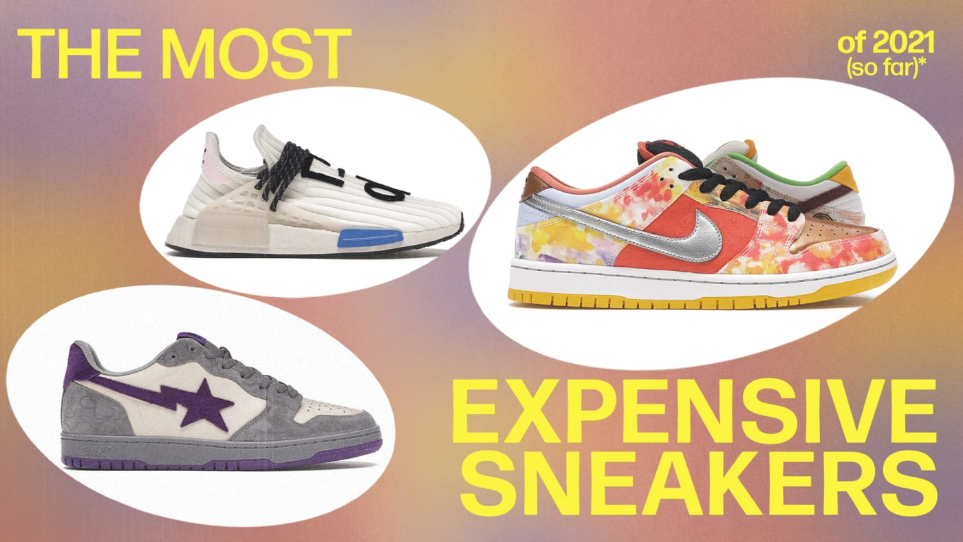Most Expensive Sneakers of 2021 (So Far)
