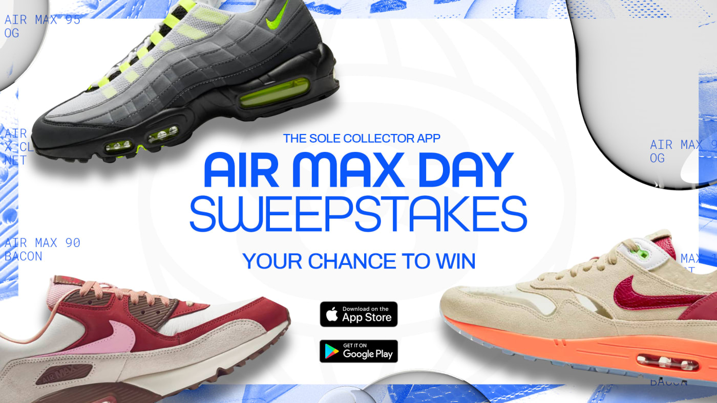 Sole Collector App Air Max Day 2021 Sweepstakes
