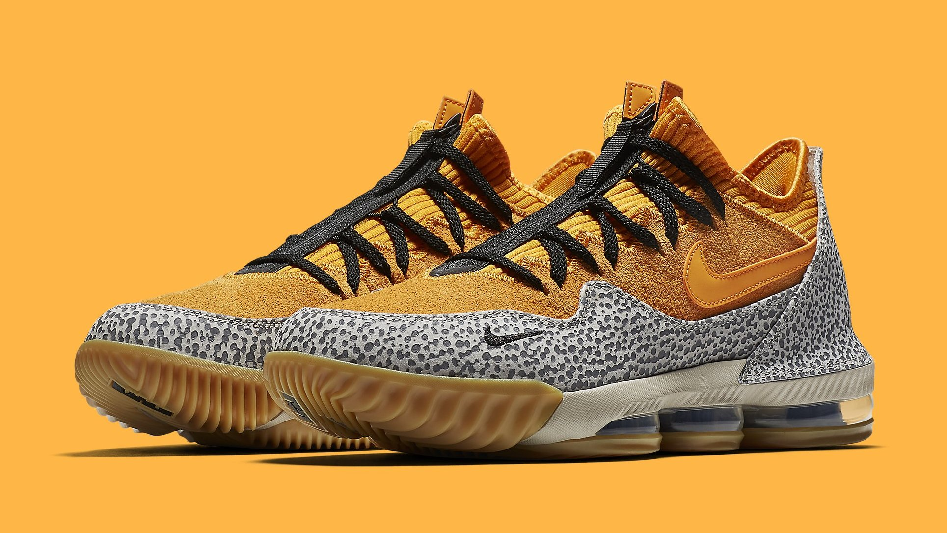 An Official Look at the 'Safari' Nike LeBron 16 Low