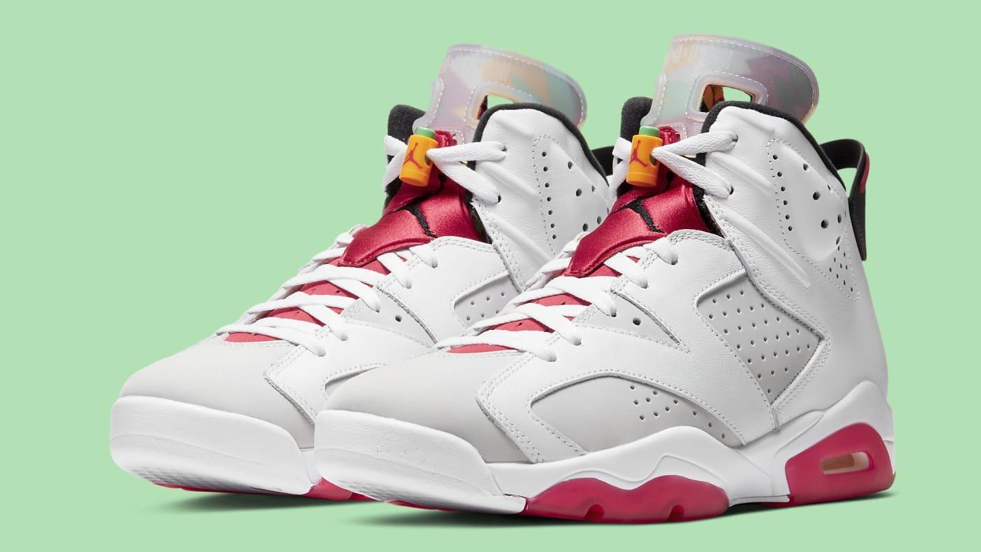 Air Jordan 6 Hare Release Date CT8529 062 Pair