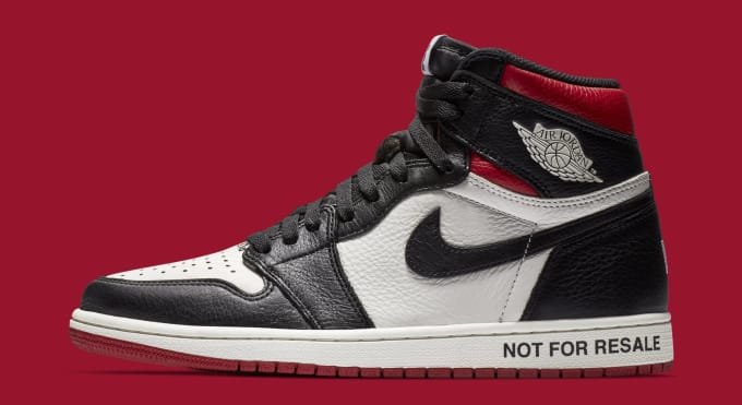 pretty nice d4b32 18578 Air Jordan 1  Not For Resale