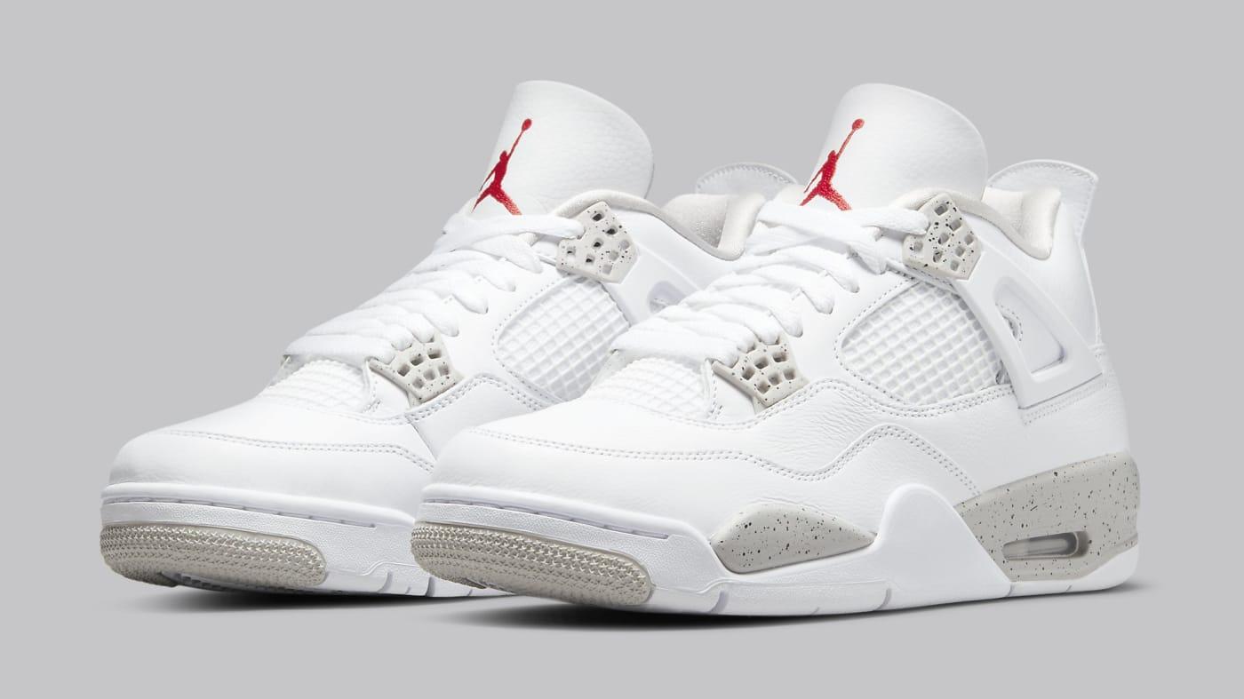 Air Jordan 4 Retro 'White Oreo' CT8527 100 Pair