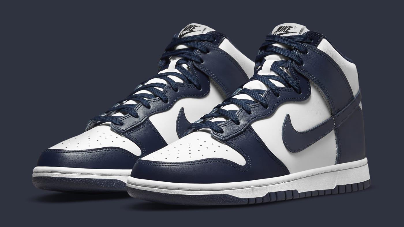 Nike Dunk High 'Midnight Navy' DD1399-104 Pair