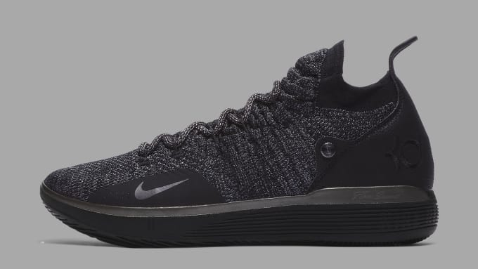 Nike KD 11 'Triple Black' AO2604-005 Lateral
