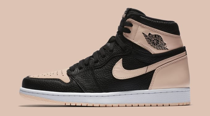 ddd7e264fb384 Air Jordan 1  Crimson Tint  555088-081 (Lateral). Image via Nike