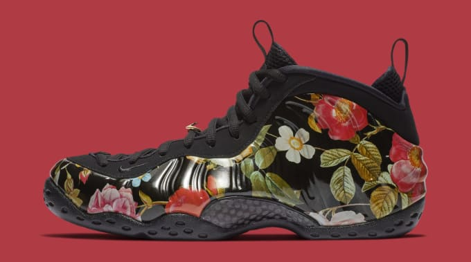 new arrivals 88139 58f04 Nike Air Foamposite One  Valentine s Day Floral  314996-012 ...
